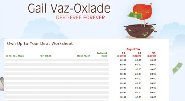 debt calculator tools - ways to get out of debt